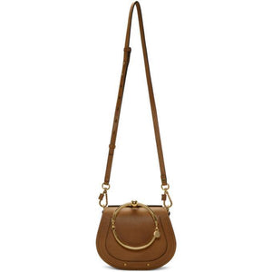 Chloé Tan Small Nile Bracelet Bag-Bags-BLACKSKINNY.COM