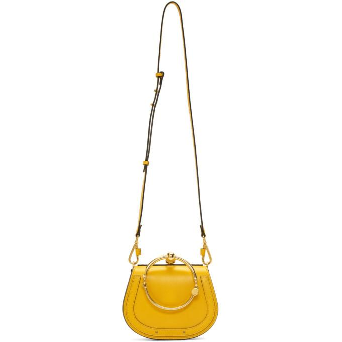 Chloé Yellow Small Nile Bracelet Bag-Bags-BLACKSKINNY.COM