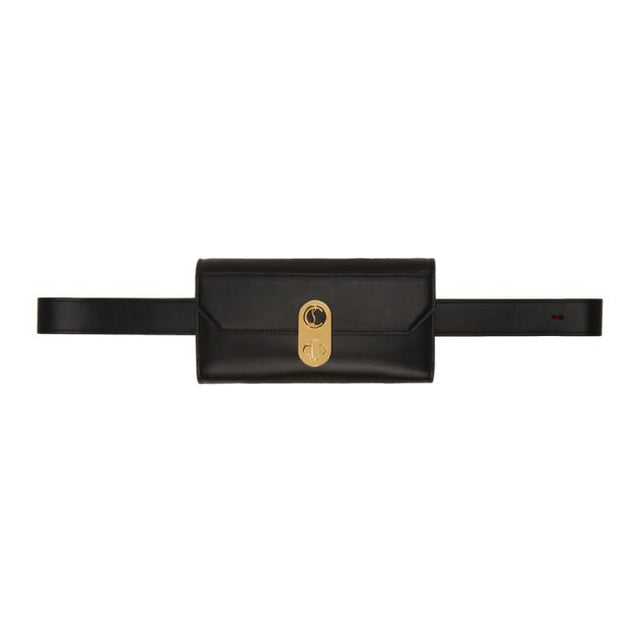 Christian Louboutin Black Elisa Belt Bag