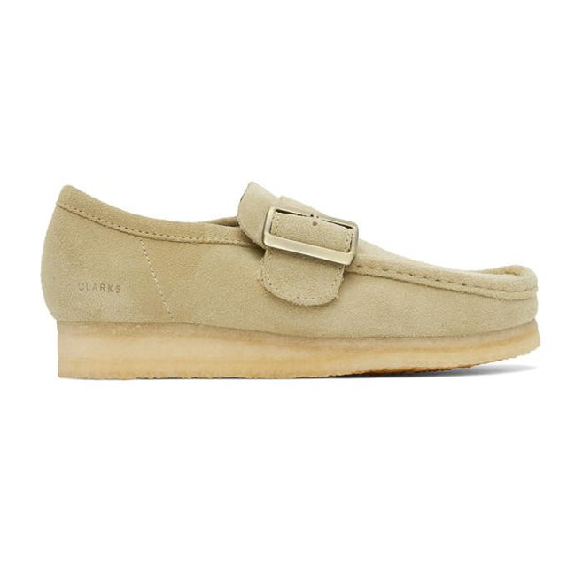 Clarks Originals Beige Wallabee Monkstraps