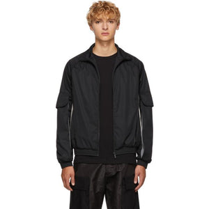 Cottweiler SSENSE Exclusive Black Nylon Cargo Jacket-BlackSkinny