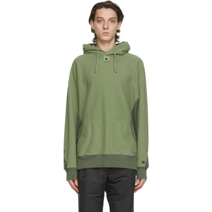 Craig Green Green Champion Reverse Weave Edition Garment-Dyed Hoodie