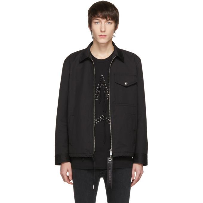 Diesel Black J-Plaza Jacket-BlackSkinny