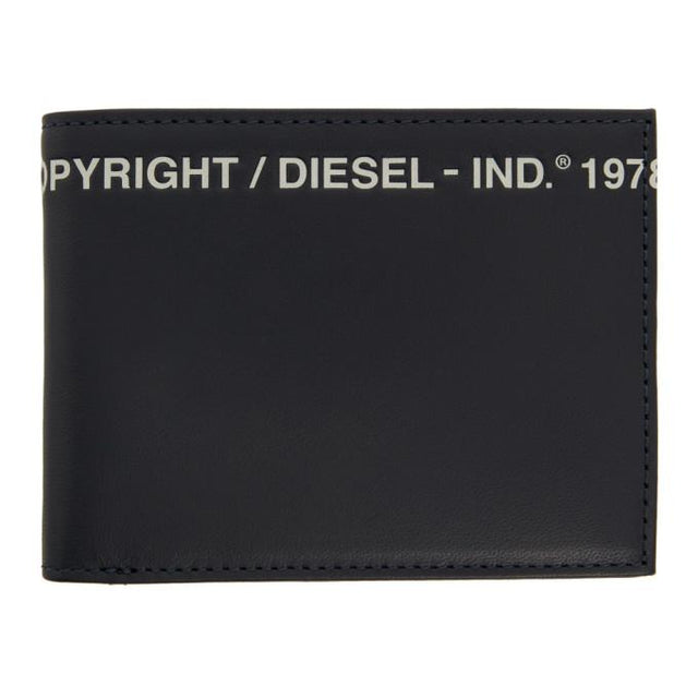 Diesel Navy Copyright Bifold Wallet
