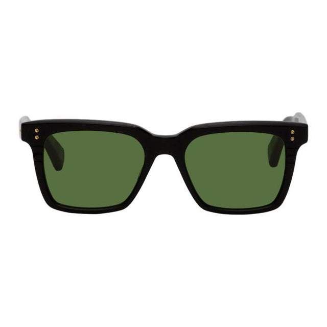Dita Black and Green Sequoia Sunglasses