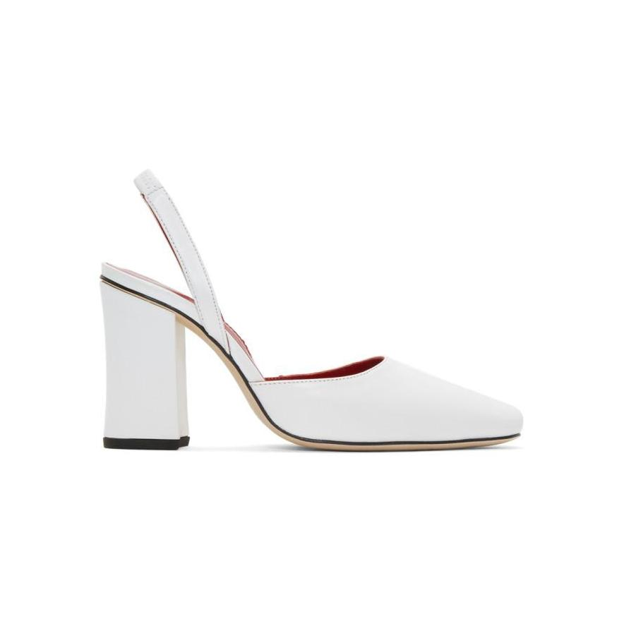 Dorateymur White Resort 1802 Heels-BLACKSKINNY.COM