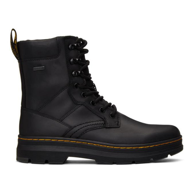 Dr. Martens Black Iowa Boots