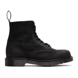 Dr. Martens Black Made In England Titan 1460 Pascal Boots