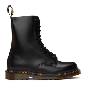 Dr. Martens Black Made In England Vintage 1490 Boots