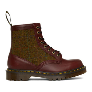 Dr. Martens Burgundy Made in England 1460 Boots