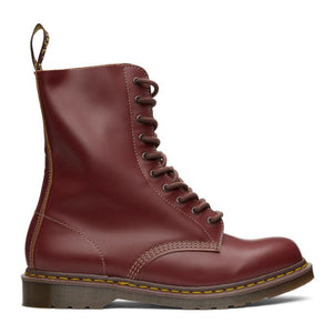 Dr. Martens Red Made In England Vintage 1490 Boots