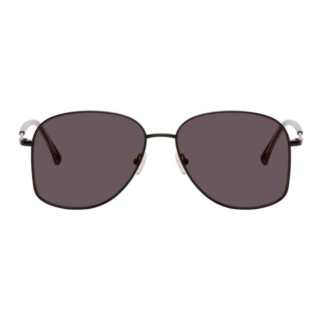 Dries Van Noten Black Linda Farrow Edition 199 C1 Sunglasses