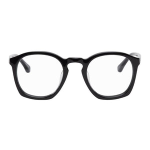 Dries Van Noten Black Linda Farrow Edition Square Glasses