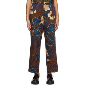 Dries Van Noten Multicolor Floral Jeans