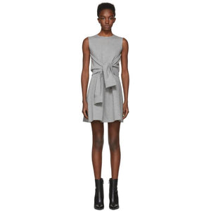 Dsquared2 Grey Compact Jersey Dress-BLACKSKINNY.COM
