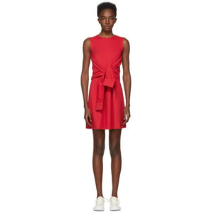 Dsquared2 Red Compact Jersey Dress-BLACKSKINNY.COM