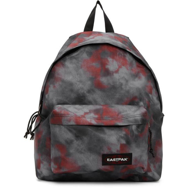 Eastpak Black and Red Tie-Dye Padded Pakr Backpack