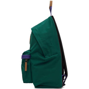 Eastpak Green and Purple Padded Pakr Backpack