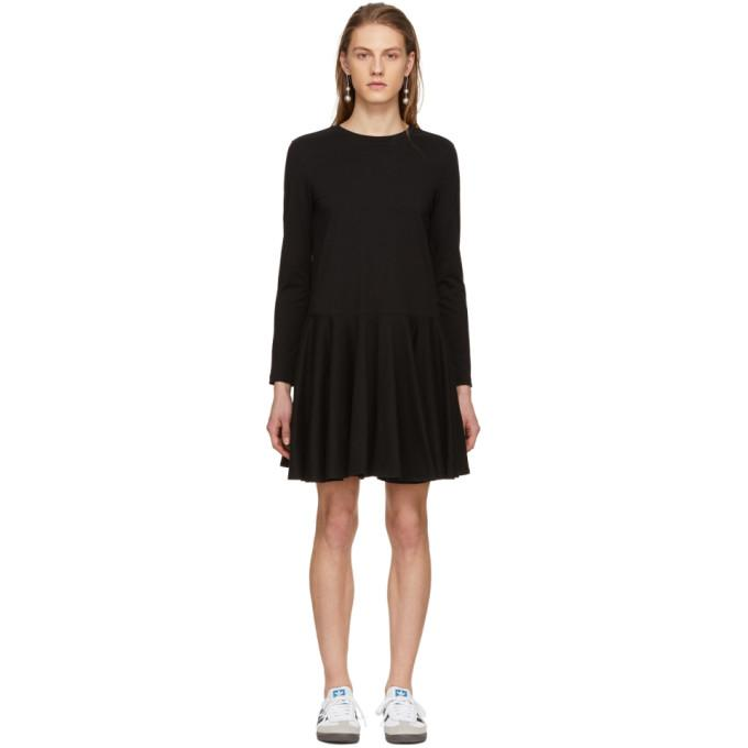 Edit Black Circle Skirt Dress-BLACKSKINNY.COM