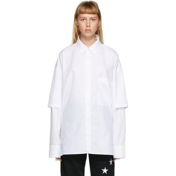 Etudes White Iron Monogram Shirt