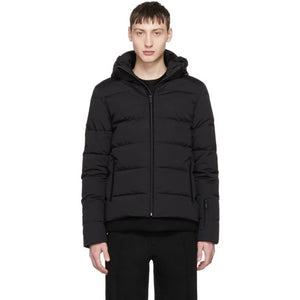 Fendi Black Down 'Bag Bugs' Jacket-BlackSkinny
