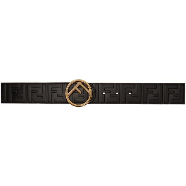 Fendi Black Forever Fendi Belt