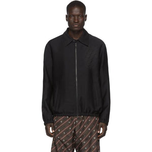 Fendi Black Forever Fendi Shirt Jacket