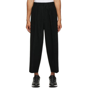 Fumito Ganryu Black Bulky Trousers