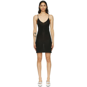 GANNI Black Slip Dress