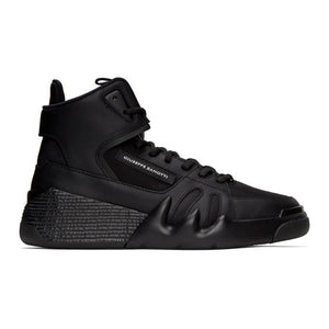 Giuseppe Zanotti Black Jupiter Talon High Top Sneakers