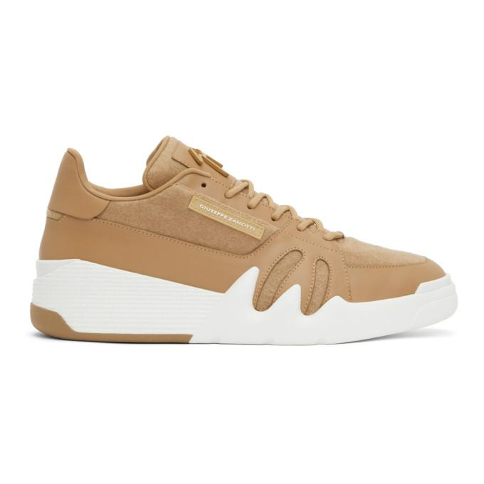 Giuseppe Zanotti Brown Low Talon Sneakers