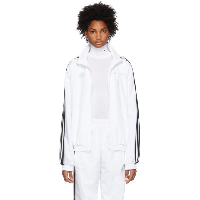 Gosha Rubchinskiy White adidas Originals Edition Track Jacket-BlackSkinny