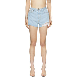 Grlfrnd Blue Denim Cindy Shorts