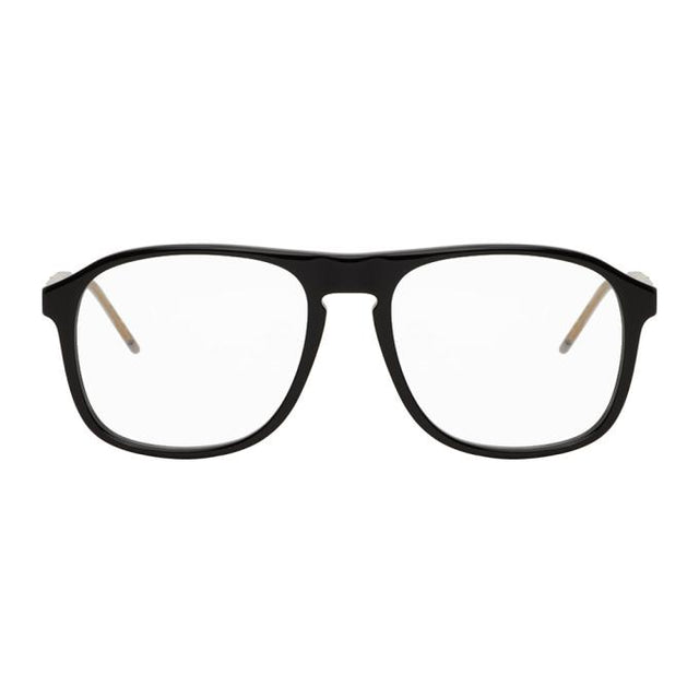 Gucci Black Aviator Glasses