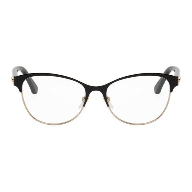Gucci Black Half-Rim Glasses