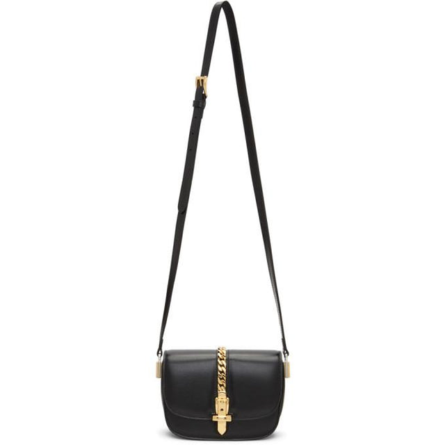 Gucci Black Mini Sylvie 1969 Bag