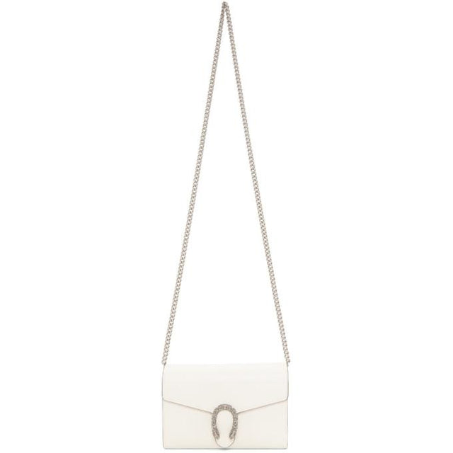 Gucci Off-White Dionysus Chain Wallet Bag
