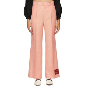 Gucci Pink Gucci Orgasmique Wide Trousers