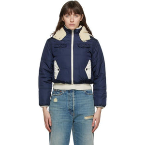 Gucci Reversible Navy Light Parachute Jacket