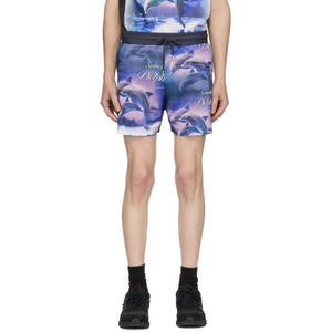 Han Kjobenhavn Multicolor Swim With Dolphins Swim Shorts