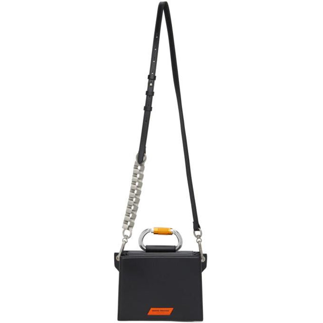 Heron Preston Black Carabiner Shoulder Bag