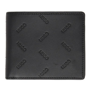Hugo Black Bifold Wallet and Cardholder Gift Set