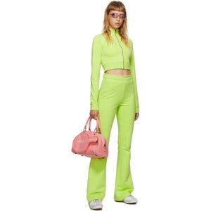 Im Sorry by Petra Collins SSENSE Exclusive Green Logo Tracksuit