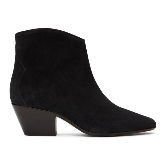 Isabel Marant Black Dacken Ankle Boots