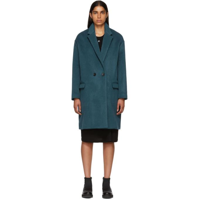 Isabel Marant Blue Filipo Coat-BlackSkinny