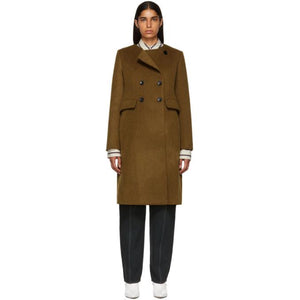 Isabel Marant Bronze Fanki Coat-BlackSkinny