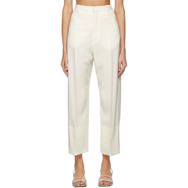Jacquemus Off-White Le Pantalon Santon Trousers
