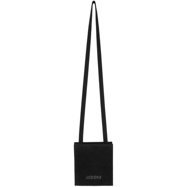 Jacquemus SSENSE Exclusive Black Le Gadjo Wallet