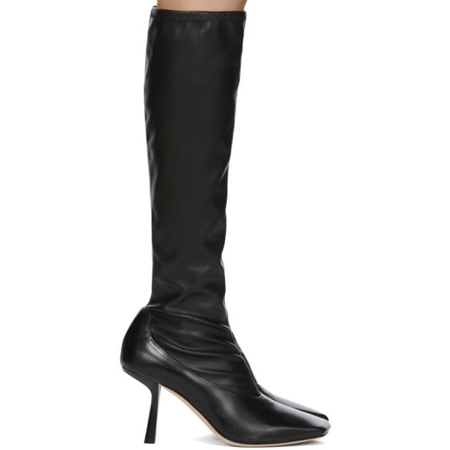 Jimmy Choo Black Myka Tall Boots