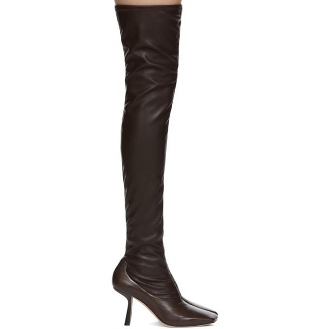 Jimmy Choo Brown Mire Boots